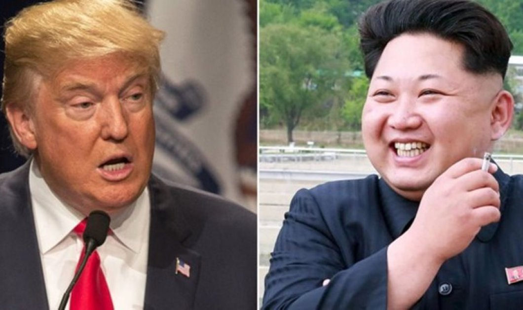 """Τα """"σκληρά αγόρια"""" ανέβασαν τους τόνους: Ετοιμοπόλεμοι Τραμπ & Κιμ Γιονγκ Ουν- Αμερική & Β. Κορέα ακονίζουν μαχαίρια - Κυρίως Φωτογραφία - Gallery - Video"""
