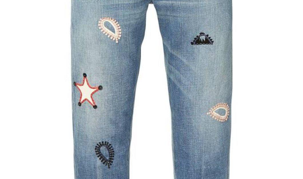 Της μόδας! 26 jeans με κέντημα - Δεν θα ξέρετε  ποιο να πρωτοδιαλέξετε - Φτηνά & ακριβά (Φωτό) - Κυρίως Φωτογραφία - Gallery - Video