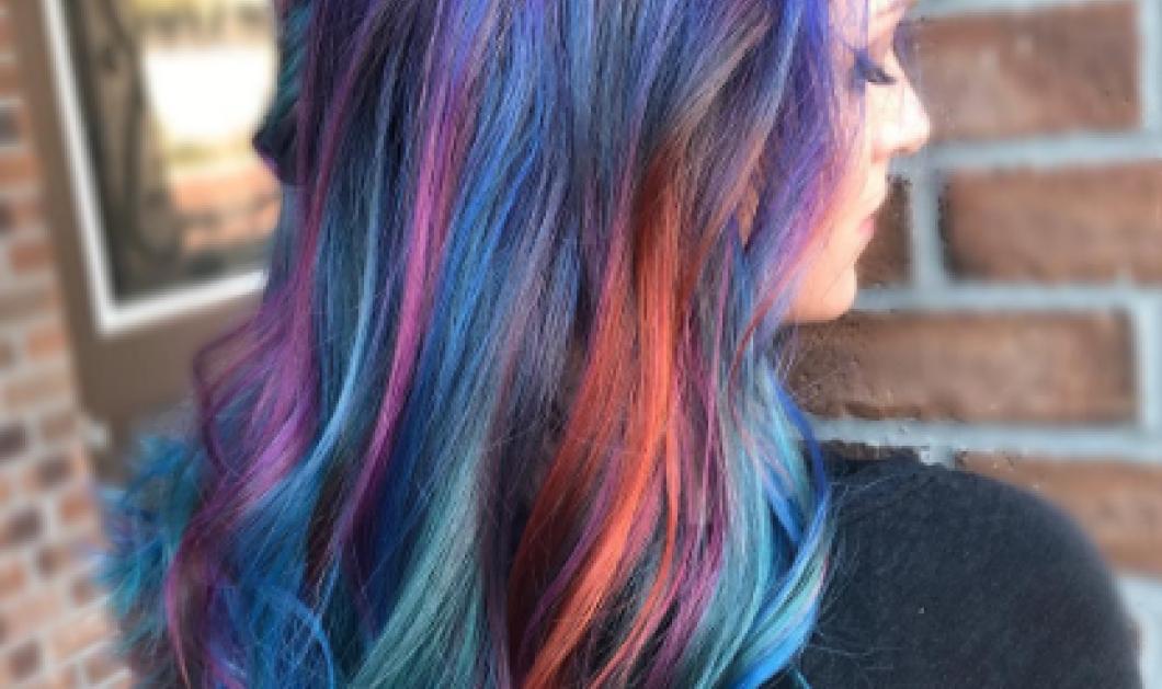 Το νέο χρώμα στα μαλλιά είναι το Geode - Το χρώμα των ημιπολύτιμων λίθων - Κυρίως Φωτογραφία - Gallery - Video