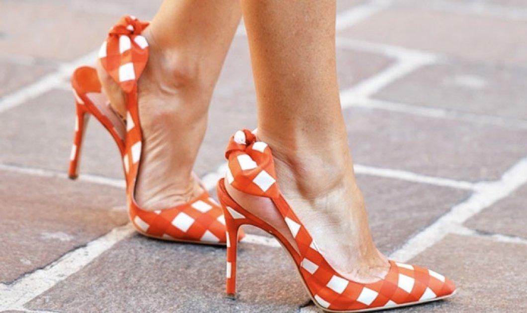Τα λατρεμένα παπούτσια της εποχής - Ξέφτερνα με ψηλά ή μεσαία τακούνια κάνουν πιο σικ τις εμφανίσεις σας - Κυρίως Φωτογραφία - Gallery - Video