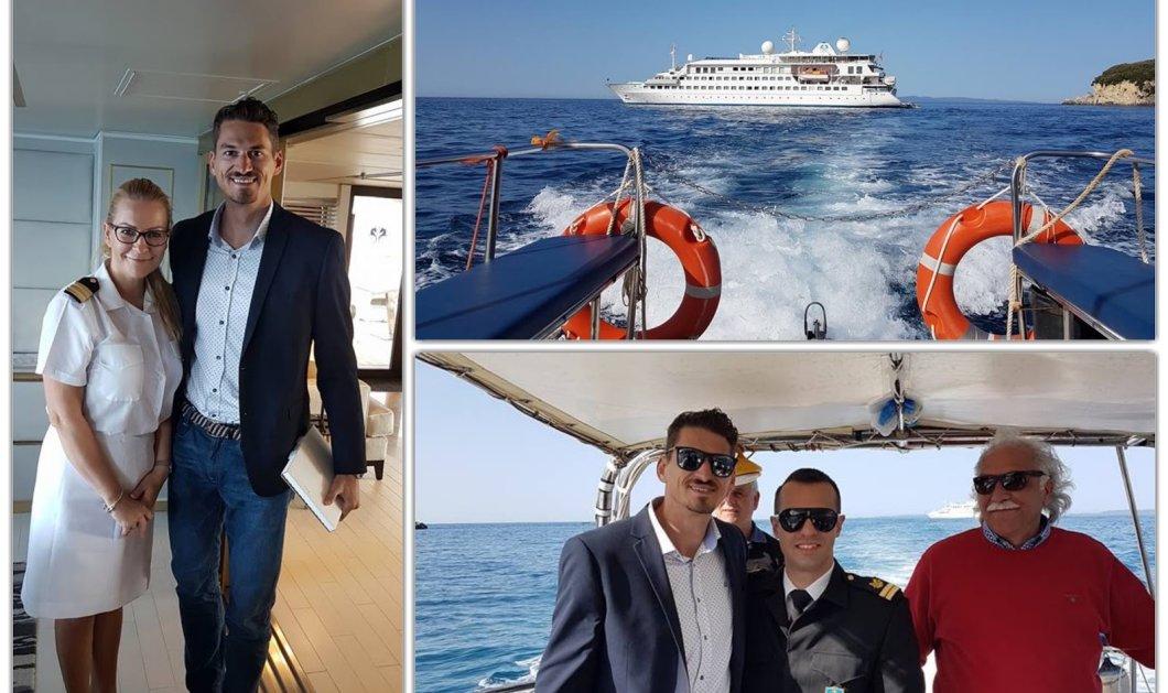 Good news για τον ελληνικό τουρισμό: Έφθασε στην Πάργα το πρώτο Κρουαζιερόπλοιο - Κυρίως Φωτογραφία - Gallery - Video