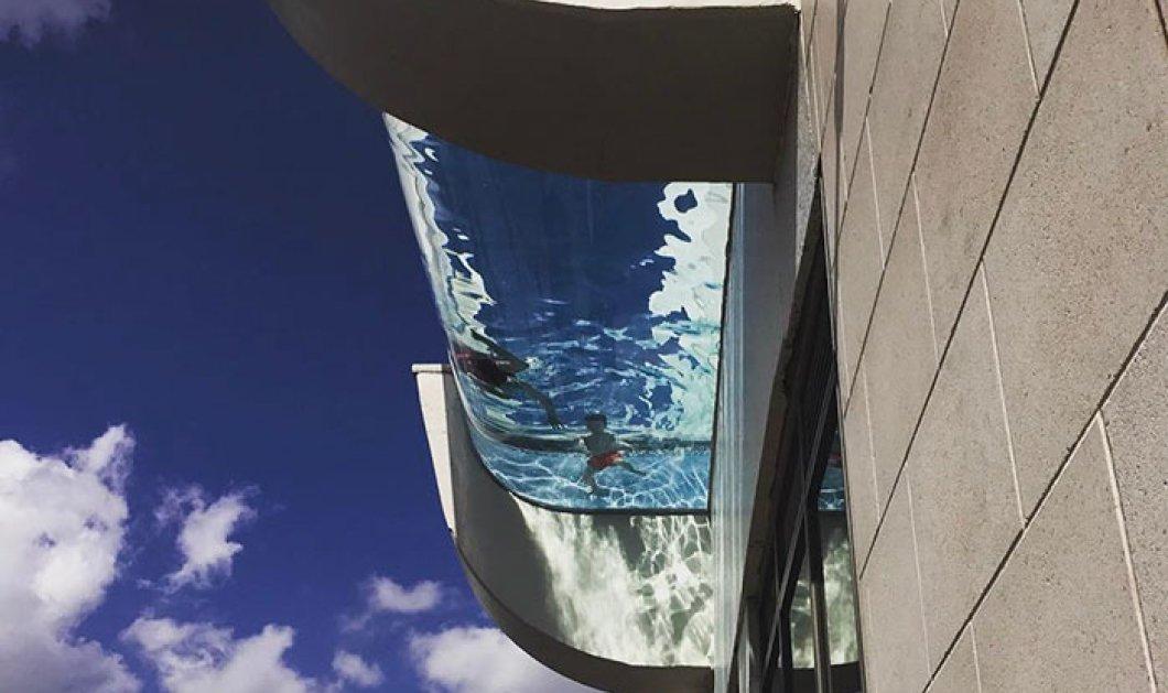 Αυτή είναι η πιο τρομακτική πισίνα στον κόσμο: Οι υψοφοβικοί ας μην δουν το βίντεο - Κυρίως Φωτογραφία - Gallery - Video
