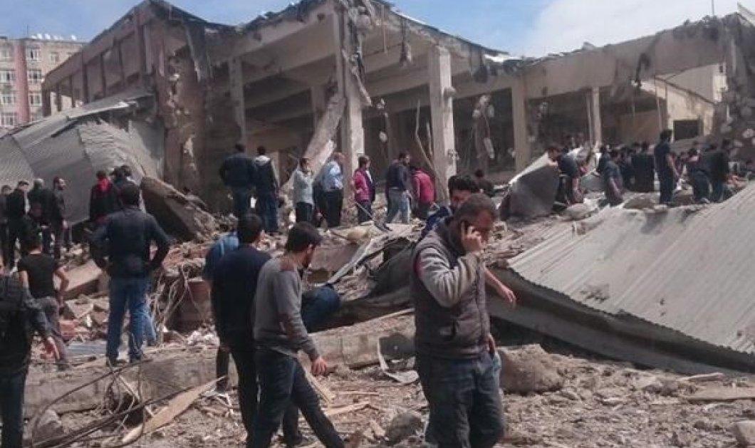 Ισχυρή έκρηξη στην Τουρκία - Δεκάδες τραυματίες - Κυρίως Φωτογραφία - Gallery - Video