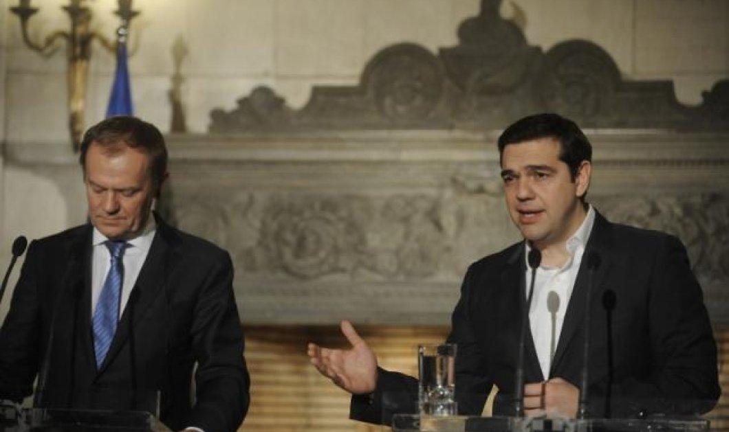 Τουσκ στον Τσίπρα: Έχουμε δρόμο ακόμη μπροστά μας για το success story της ελληνικής οικονομίας - Κυρίως Φωτογραφία - Gallery - Video