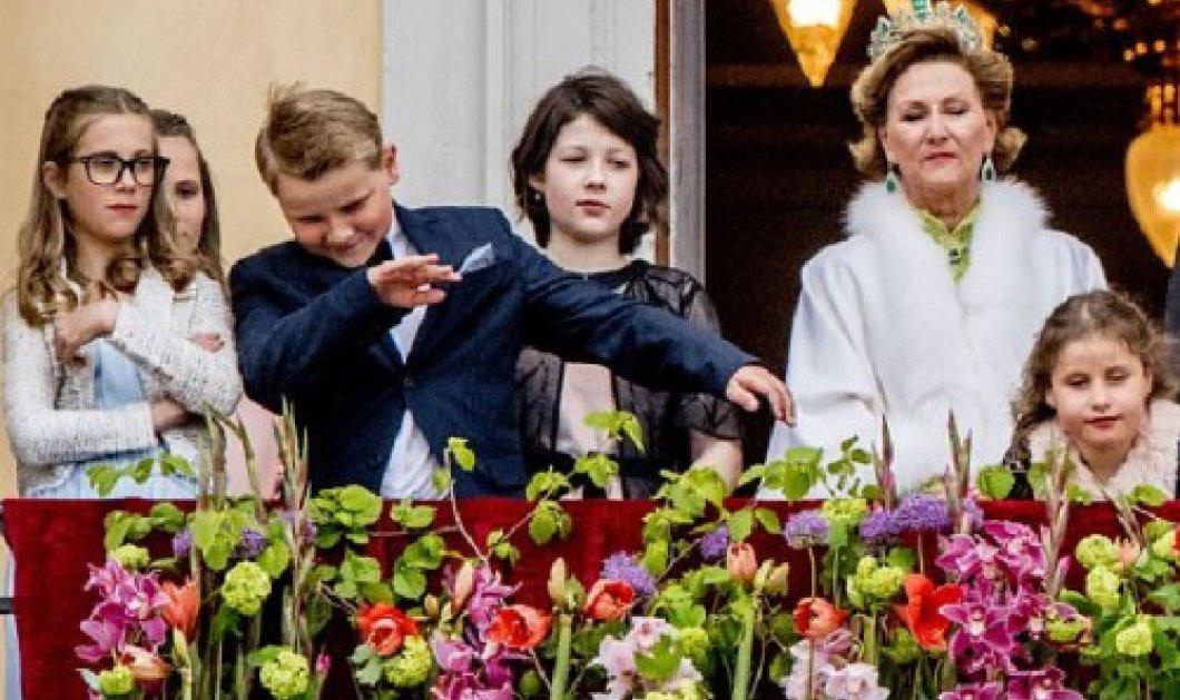 Νορβηγία: Πριγκιπόπουλο κάνει «dab», σπάει το πρωτόκολλο και γίνεται viral! -Βίντεο - Κυρίως Φωτογραφία - Gallery - Video