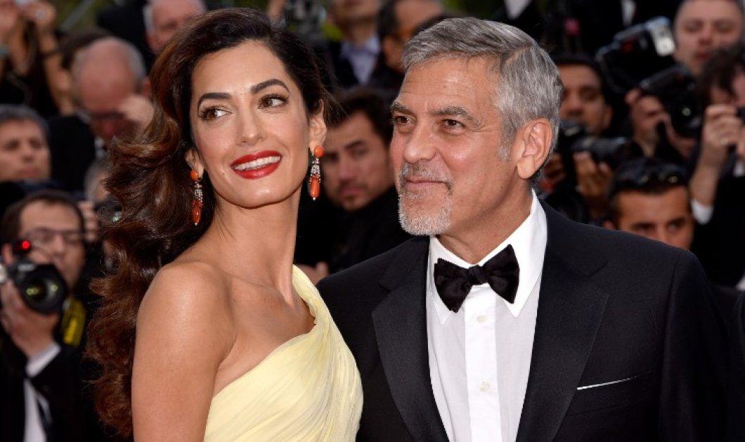 """Ο George Clooney """"κολλημένος"""" στο Λονδίνο μέχρι να γεννηθούν τα δίδυμα- Γονείς σε 1 μήνα - Κυρίως Φωτογραφία - Gallery - Video"""