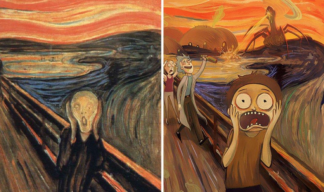 """Κάποιος κεφάτος καλλιτέχνης """"πείραξε"""" κλασικούς πίνακες- αριστουργήματα & τώρα κρατάμε την κοιλιά μας- Ο ασεβής!! - Κυρίως Φωτογραφία - Gallery - Video"""