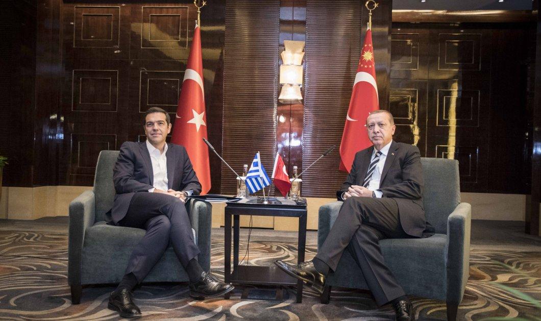 Τετ- α- τετ Τσίπρα - Ερντογάν στο Πεκίνο: Πλήρη εφαρμογή της Συνθήκης της Λωζάνης επιθυμεί ο Τούρκος πρόεδρος - Κυρίως Φωτογραφία - Gallery - Video