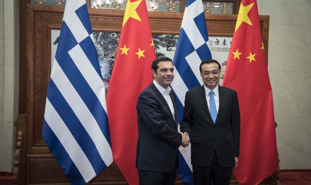 Τσίπρας στον Κινέζο Πρωθυπουργό: Η Ελλάδα βρίσκεται πολύ κοντά στην οριστική έξοδο από την κρίση -Φώτο - Κυρίως Φωτογραφία - Gallery - Video