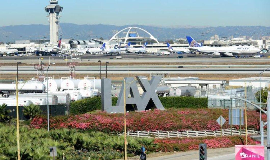 Πανικός στο αεροδρόμιο του Λος Άντζελες: Αεροσκάφος συγκρούστηκε με φορτηγό -8 τραυματίες - Κυρίως Φωτογραφία - Gallery - Video