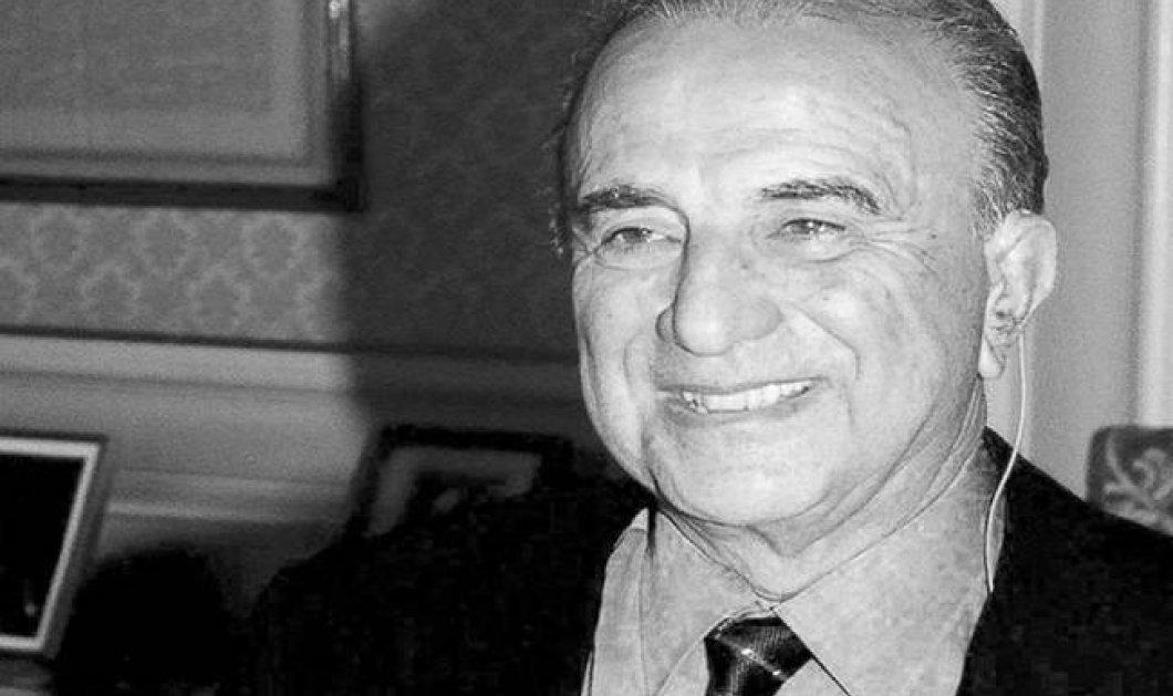 Απεβίωσε ο Αριστείδης Ι. Αλαφούζος: Η ζωή του μεγαλοεφοπλιστή και ιδιοκτήτη της Καθημερινής - Κυρίως Φωτογραφία - Gallery - Video