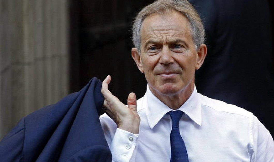 """Τόνι Μπλερ: """"Επιστρέφω στην πολιτική για να αγωνιστώ κατά του Brexit- Εφιάλτης & καταστροφή για την Βρετανία""""  - Κυρίως Φωτογραφία - Gallery - Video"""