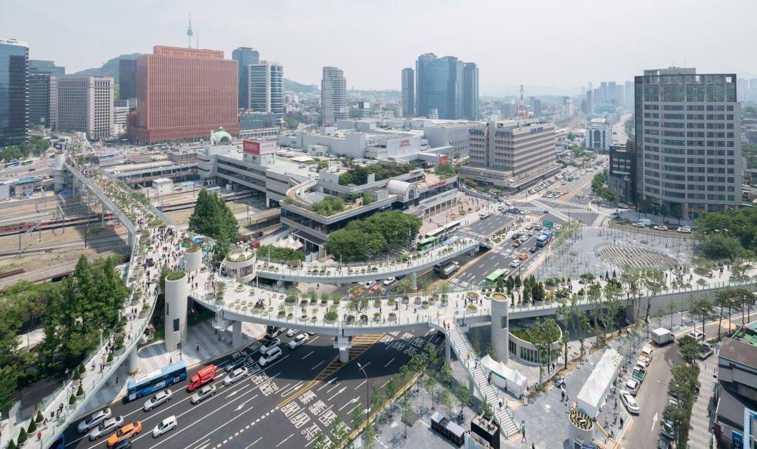 """Αυτοκινητόδρομος του 1970 μεταμορφώνεται σε """"πράσινο χωριό"""" στην Σεούλ -Φώτο - Κυρίως Φωτογραφία - Gallery - Video"""