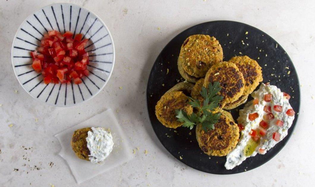 Φαλάφελ από... σπίτι με γλυκοπατάτα και κράνμπερις - Απίστευτη συνταγή του Άκη Πετρετζίκη  - Κυρίως Φωτογραφία - Gallery - Video