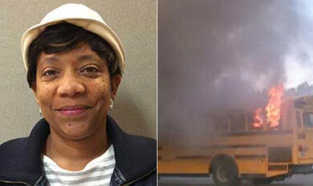 Ηρωίδα η οδηγός σχολικού: Έβγαλε αστραπιαία 56 μαθητές - Μετά το λεωφορείο κάηκε σαν λαμπάδα (Φωτό -Βίντεο) - Κυρίως Φωτογραφία - Gallery - Video