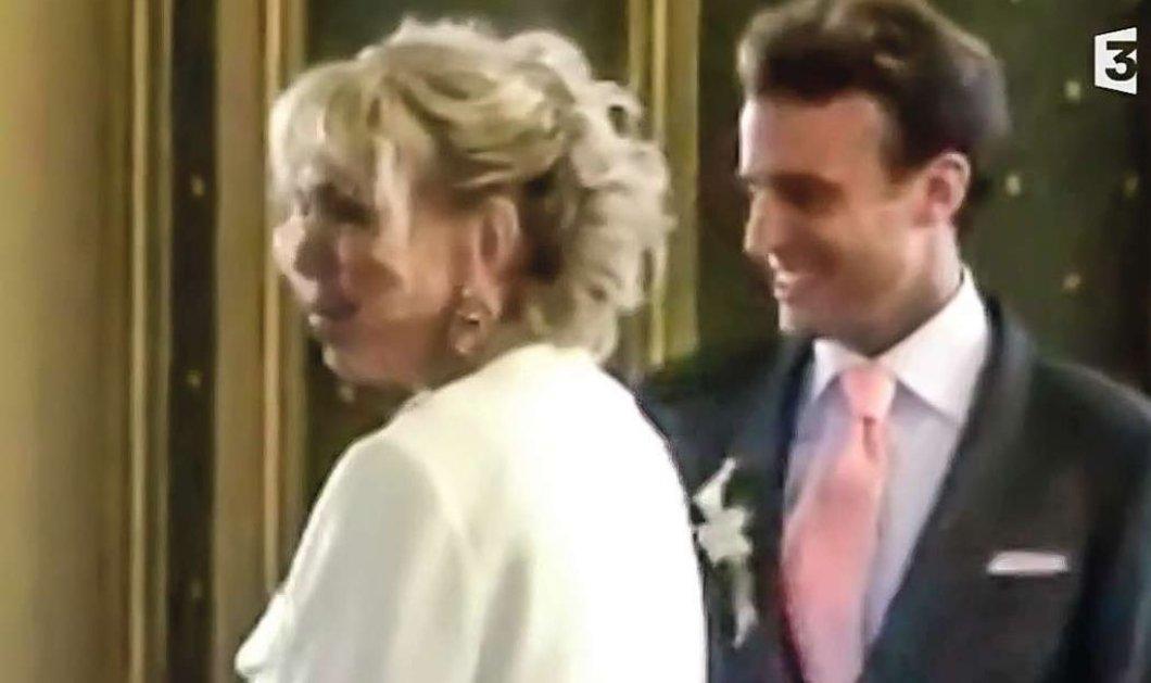 Αυτό είναι το βίντεο από το γάμο & τη δεξίωση του Μακρόν με την Μπριζίτ -Τι φορούσε η νύφη - Κυρίως Φωτογραφία - Gallery - Video