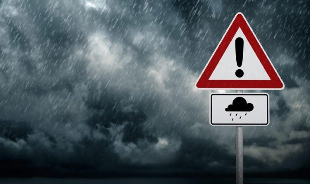 Έκτακτο δελτίο επιδείνωσης καιρού - Βροχές και χαλαζοπτώσεις - Κυρίως Φωτογραφία - Gallery - Video
