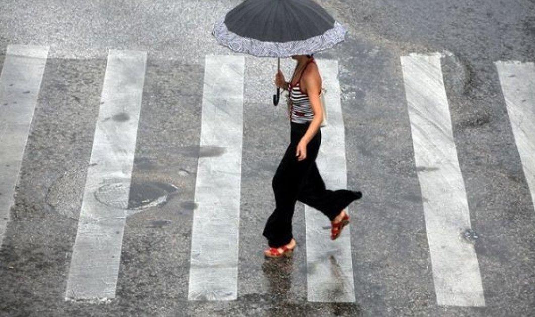 Και χαλάζι! Ισχυρές βροχές, καταιγίδες και καιρός για έναρξη φθινοπώρου - Κυρίως Φωτογραφία - Gallery - Video