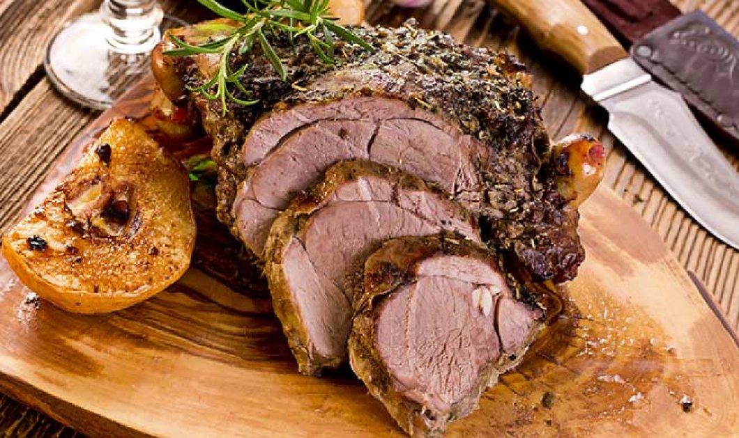 Ιδανική συνταγή για το κυριακάτικο τραπέζι - Αρνίσιο μπούτι στον φούρνο με κρούστα μυρωδικών από τον Ανδρέα Παπανδρέου - Κυρίως Φωτογραφία - Gallery - Video