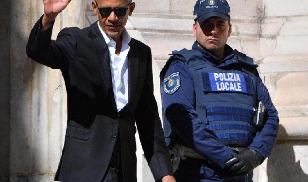 Ο Ομπάμα χωρίς γραβάτα (αλά Τσίπρα) στο Μιλάνο: Μου αρέσουν τρέλα οι selfies & τρώω...(Φωτό) - Κυρίως Φωτογραφία - Gallery - Video