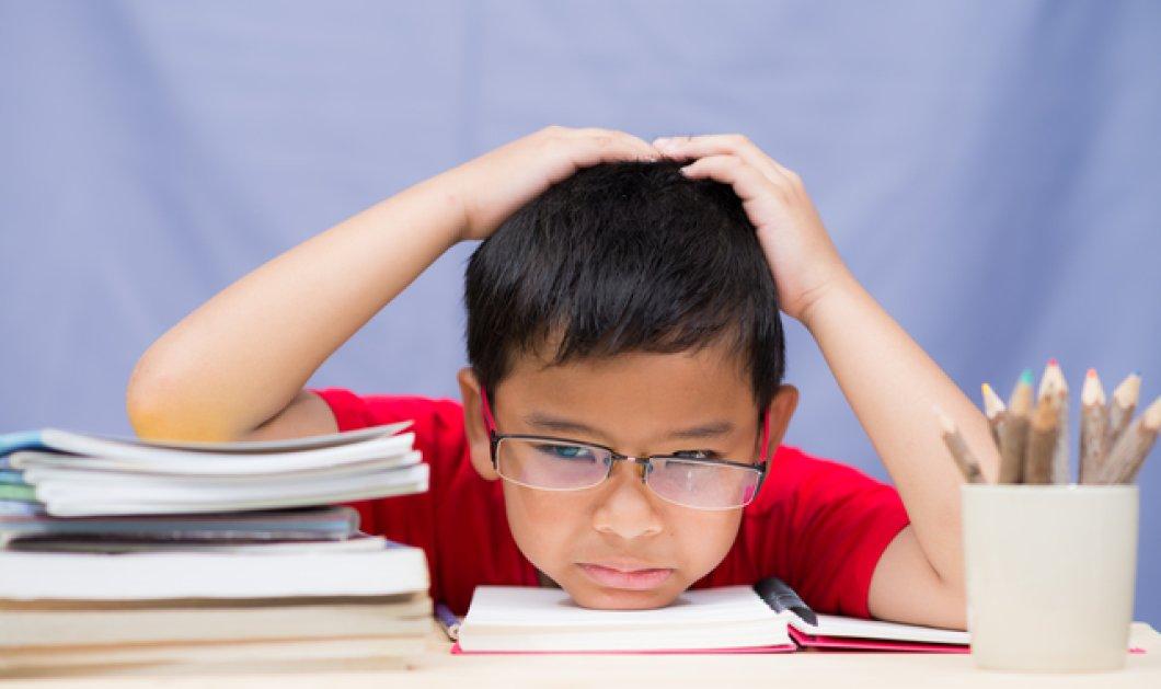 Διάσημη blogger & μαμά απαντά: Πόσο διάβασμα & πόσες εξωσχολικές δραστηριότητες αντέχουν τα παιδιά - Κυρίως Φωτογραφία - Gallery - Video