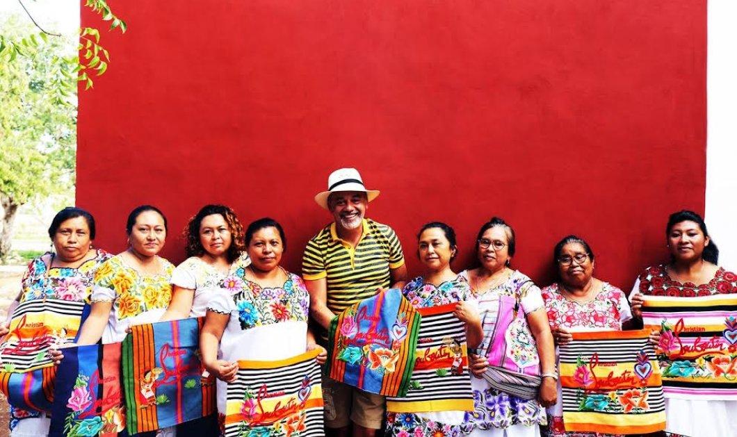 O διάσημος Christian Louboutin της κόκκινης σόλας λανσάρει μια τσάντα - έκρηξη χρωμάτων & Μεξικάνικης χαράς (Φωτό) - Κυρίως Φωτογραφία - Gallery - Video