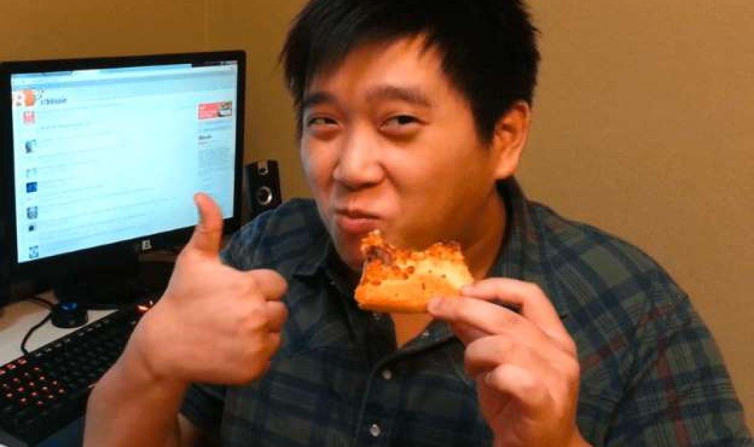Αυτός ο άνδρας έγινε πολυεκατομμυριούχος - Πως μία πίτσα φούσκωσε τον λογαριασμό του - Κυρίως Φωτογραφία - Gallery - Video