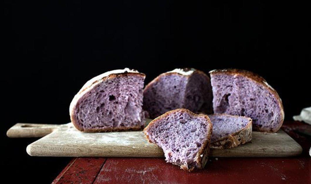 Το μωβ ψωμί είναι το πρώτο ψημένο superfood: Το ανακάλυψαν στην Σιγκαπούρη & είναι πολύ υγιεινό! (Φωτό - Βίντεο) - Κυρίως Φωτογραφία - Gallery - Video