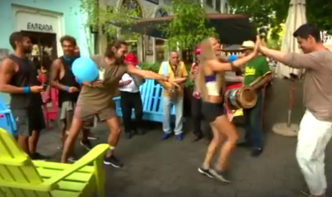 Ξέφρενοι ρυθμοί στους δρόμους του Αγίου Δομίνικου - Δείτε τους παίκτες του Survivor να χορεύουν με τον Σάκη Ρουβά - Κυρίως Φωτογραφία - Gallery - Video