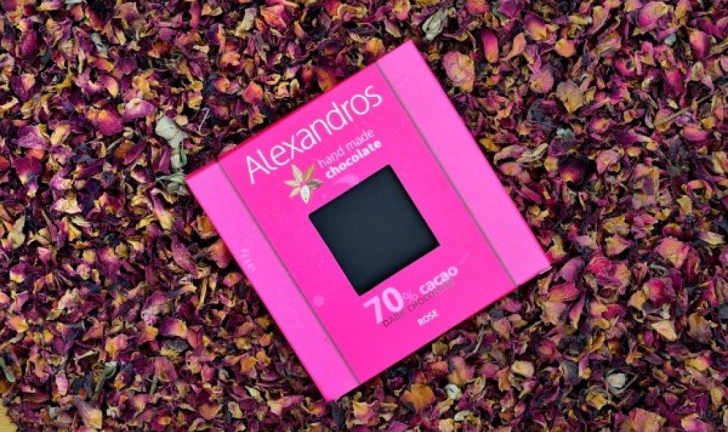 Made in Greece οι σοκολάτες Alexandros: Με φράουλα ή ροζ πιπέρι - Κυρίως Φωτογραφία - Gallery - Video