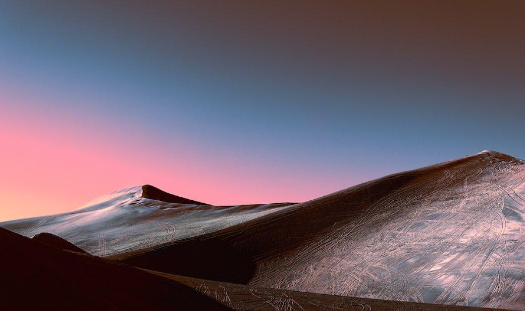 Ροζ παιχνίδια με το φως στην έρημο για μια σειρά εικόνων που συναρπάζουν - Κυρίως Φωτογραφία - Gallery - Video