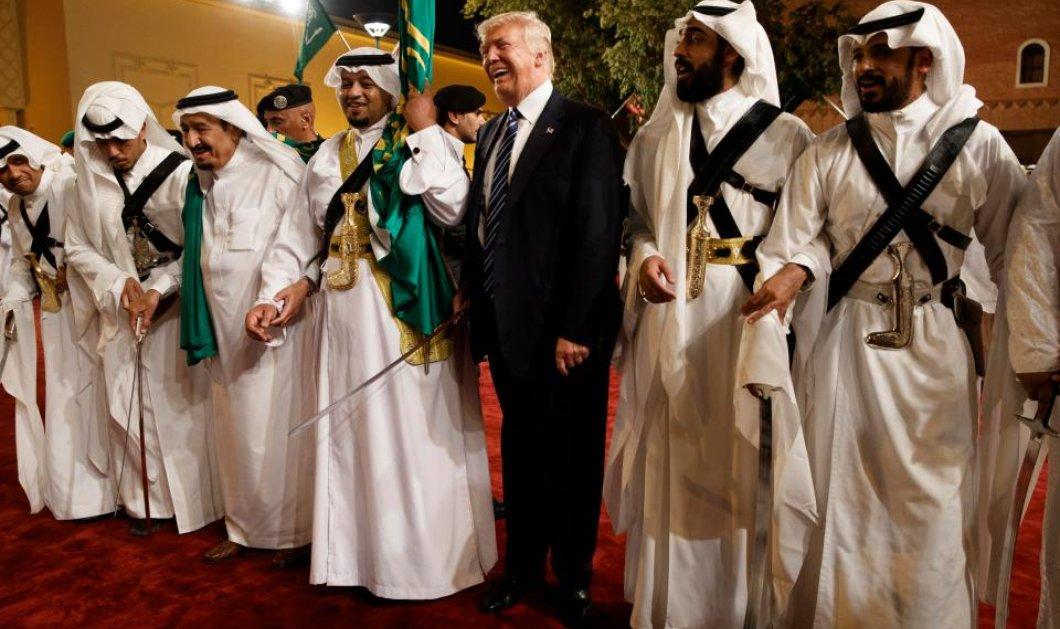 Ο Τραμπ χορεύει με τους Σαουδάραβες: Λίγο πριν του έδωσαν 110 δισ. για όπλα! Ουάου - Φωτό & Βίντεο - Κυρίως Φωτογραφία - Gallery - Video