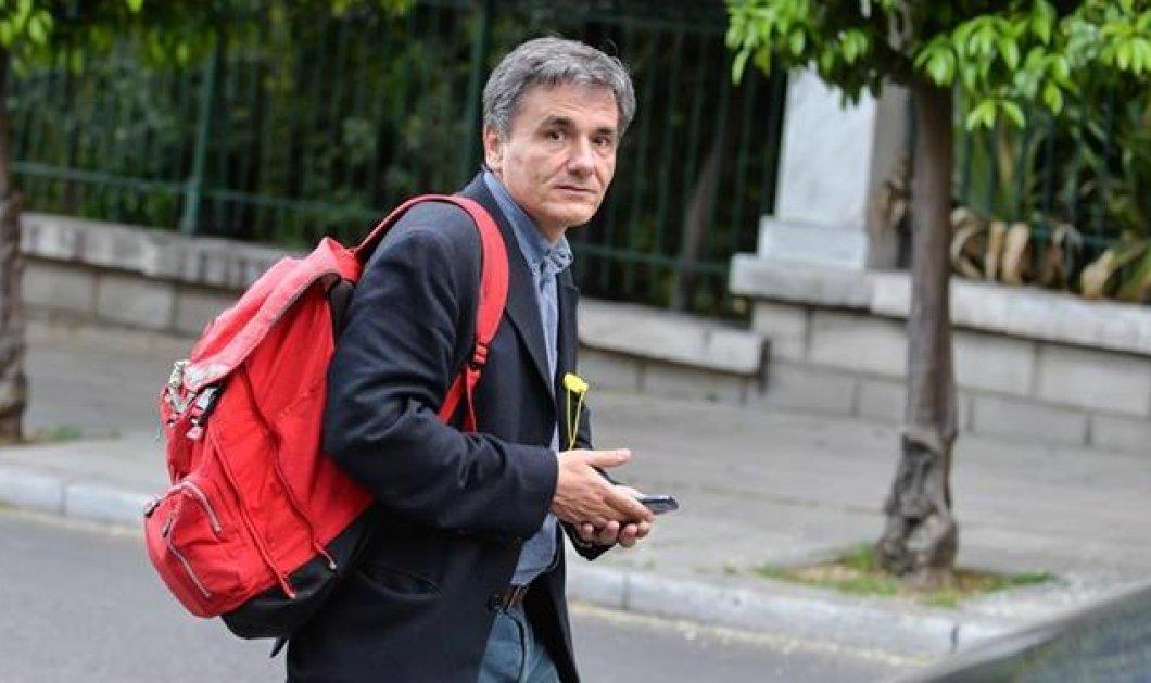 """Τσακαλώτος: """"Είμαι αισιόδοξος για το αυριανό Eurogroup - Στα χέρια των θεσμών οι αποφάσεις"""" - Κυρίως Φωτογραφία - Gallery - Video"""