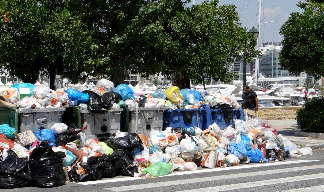 Τα σκουπίδια - βουνό σε όλη την Ελλάδα - Τίποτε δεν τελείωσε σαν να μην άρχισε με τους συμβασιούχους - Κυρίως Φωτογραφία - Gallery - Video