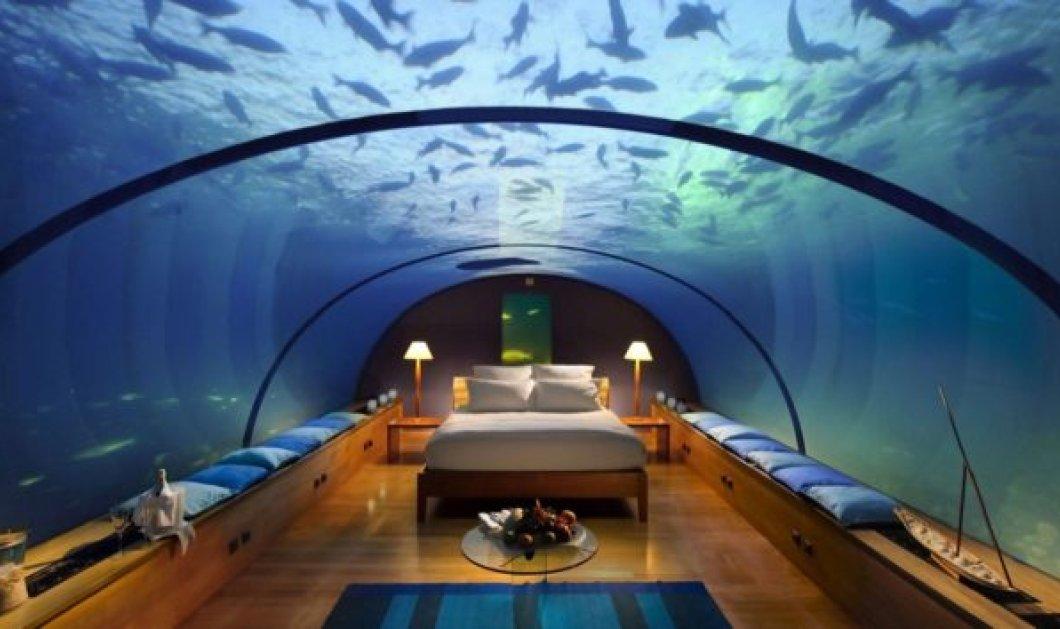 Πάμε να δροσιστούμε με μία βόλτα σε 7 απίθανα υποβρύχια ξενοδοχεία - Πόσο θα θέλαμε να είμαστε εκεί! (Φωτό) - Κυρίως Φωτογραφία - Gallery - Video