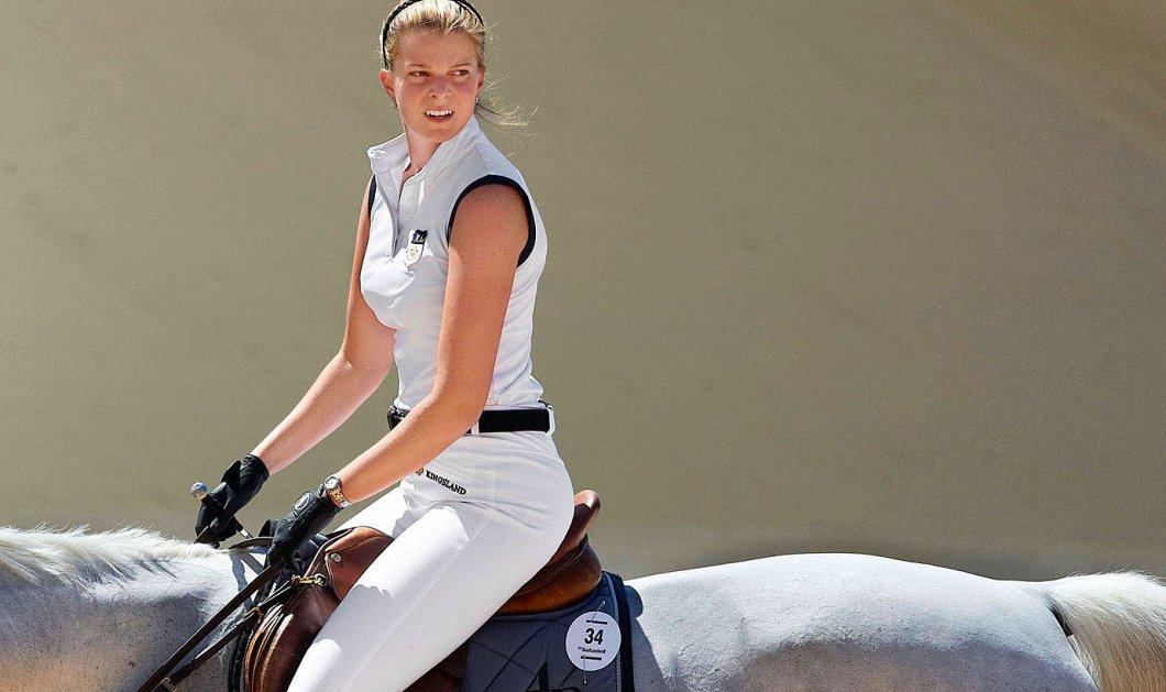 Η Αθηνά Ωνάση έδωσε το ίδιο άλογο του Αλβάρο στο νέο της ιππέα-αμόρε - Κυρίως Φωτογραφία - Gallery - Video