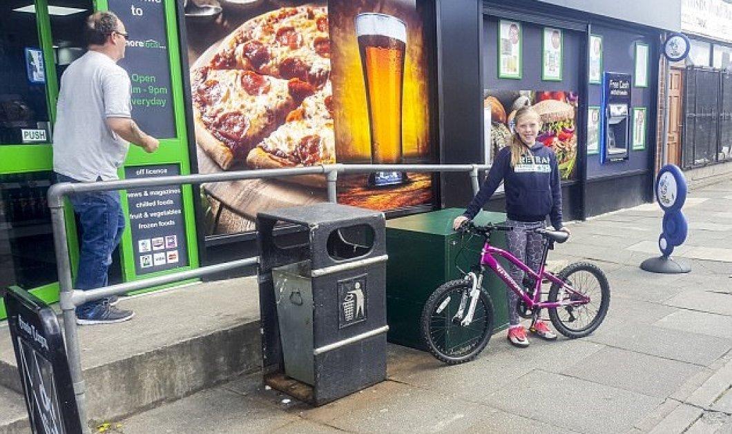 Ένας πατέρας δίνει μάθημα στην κόρη του- Άφησε το ποδήλατο της ξεκλείδωτο και της το έκλεψε- Δείτε την αντίδρασή της (Βίντεο) - Κυρίως Φωτογραφία - Gallery - Video