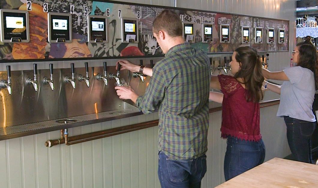 Είναι γεγονός! Ήρθε το πρώτο αυτόματο ATM μπύρας (Βίντεο) - Κυρίως Φωτογραφία - Gallery - Video