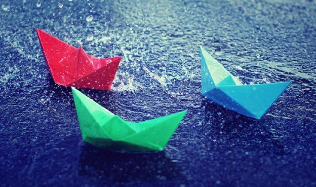Μούσκεμα μας τα κάνει ο καιρός και πάλι - Βροχές και καταιγίδες αλλά και ζέστη - Κυρίως Φωτογραφία - Gallery - Video