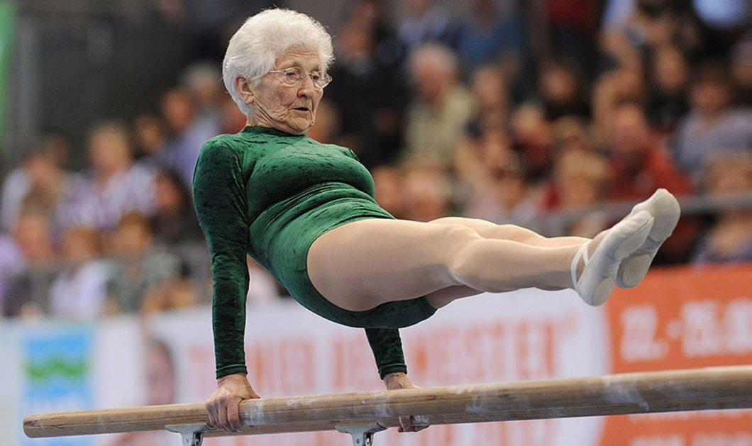 Τοpwoman η 92χρονη Γερμανίδα με το κορμί- σπαθί: Πρωταθλήτρια στην ενόργανη- 11 φορές ρεκόρ Γκίνες- Θαυμάστε την - Κυρίως Φωτογραφία - Gallery - Video