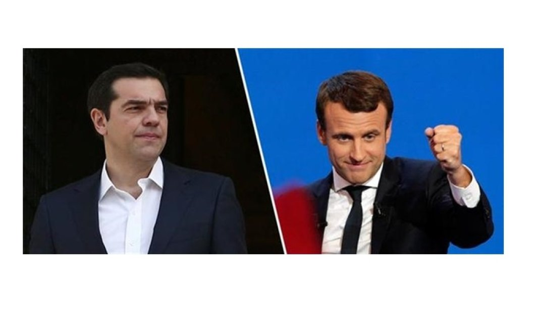Mr. Μacron δώστε χέρι στην Ελλάδα - Σχιζοφρενής ο Σοίμπλε λένε οι Πράσινοι & ο Πιτέλα: Ας πάψει ο Σόιμπλε να μην θέλει ελάφρυνση - Κυρίως Φωτογραφία - Gallery - Video