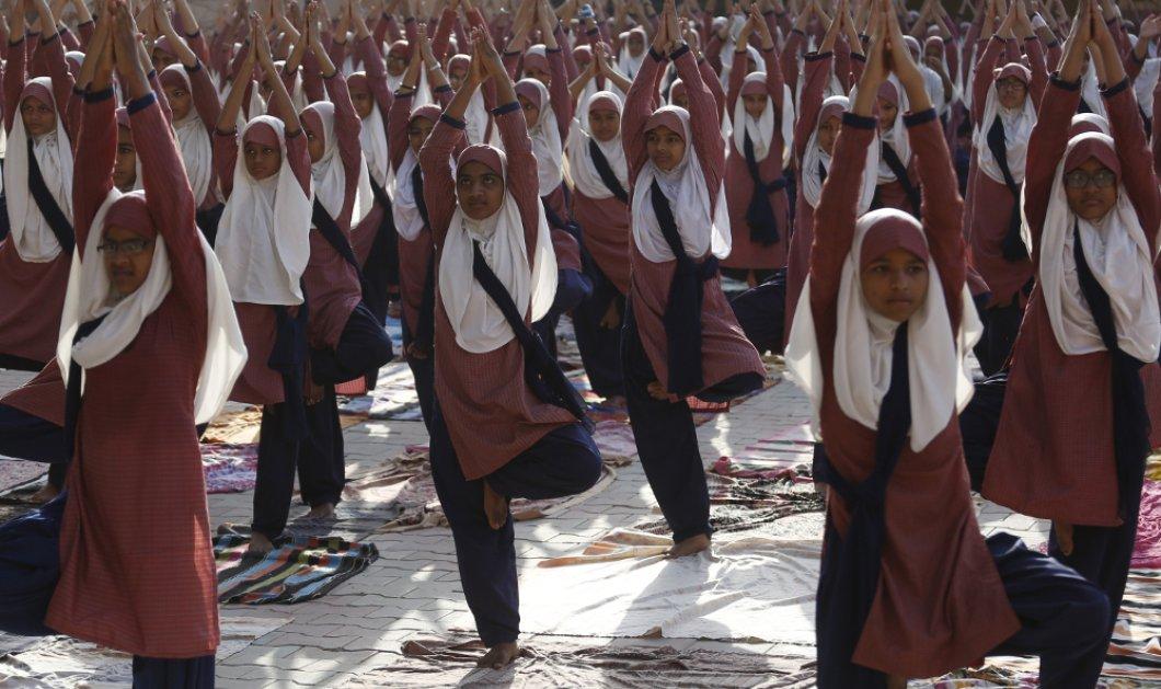 Παγκόσμια Ημέρα Γιόγκα αύριο και η Ινδία βρίσκεται σε πυρετώδεις προετοιμασίες - Δείτε τις φωτό & χαλαρώστε - Κυρίως Φωτογραφία - Gallery - Video