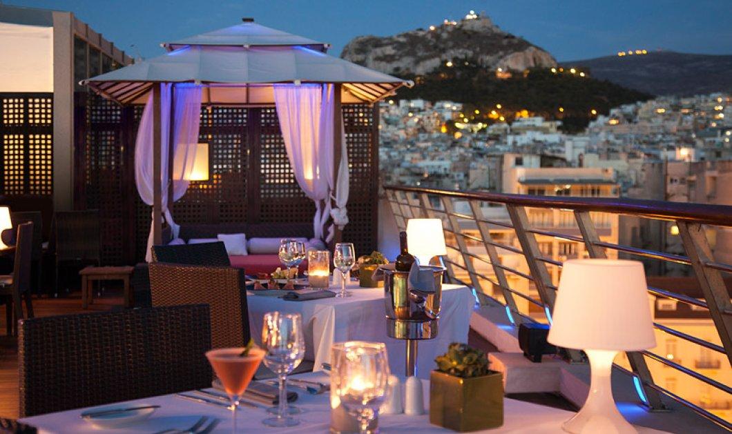 Μια μοναδική εμπειρία γεύσεων στο rooftop του ξενοδοχείου Melia Athens στο κέντρο της Αθήνας - Κυρίως Φωτογραφία - Gallery - Video