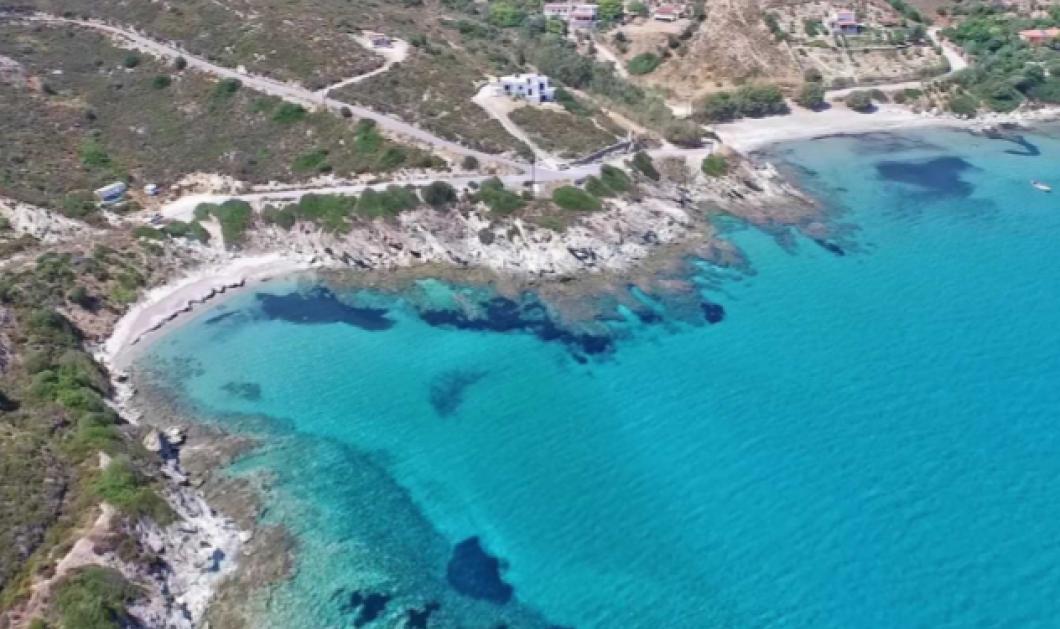 Εγγλεζονήσι όπως Μπαχάμες: Ο άγνωστος παράδεισος με τις γαλαζοπράσινες παραλίες 1 ώρα μακριά από την Αθήνα - Κυρίως Φωτογραφία - Gallery - Video
