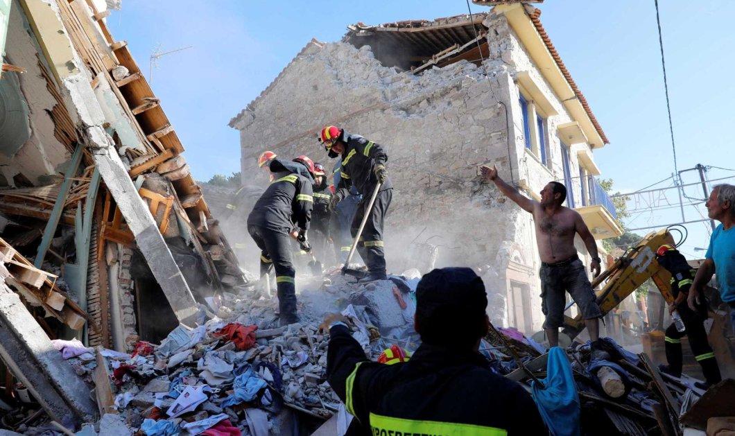 Αυτή είναι η 45χρονη μητέρα που καταπλακώθηκε από το σπίτι της στον μεγάλο σεισμό της Μυτιλήνης - Κυρίως Φωτογραφία - Gallery - Video