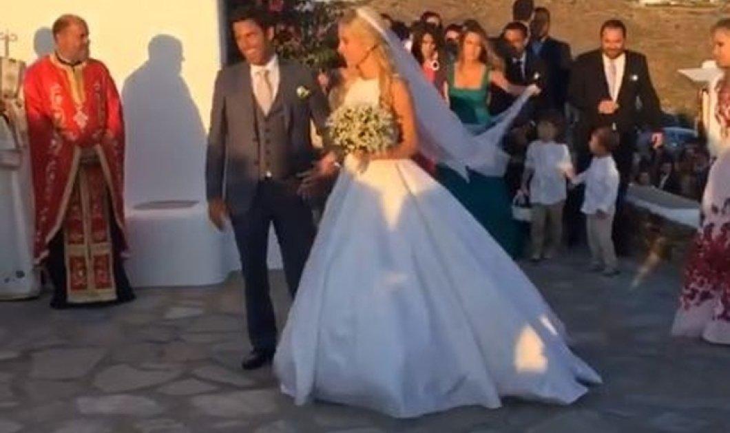 Μύκονος: Οι φωτό & τα βίντεο από τον υπέροχο γάμο της Δούκισσας Νομικού & του Δημήτρη Θεοδωρίδη  - Κυρίως Φωτογραφία - Gallery - Video