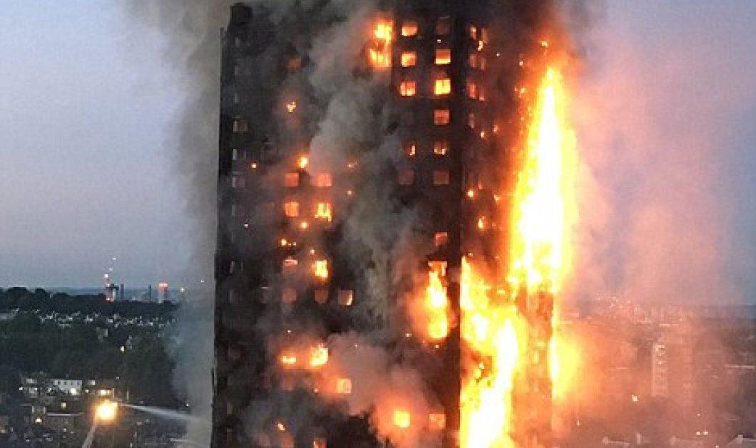 Λονδίνο: Φλέγεται ουρανοξύστης 27 ορόφων με εκατοντάδες ενοίκους - Θυμίζει 9/11 & Δίδυμους Πύργους- 6 οι νεκροί (Φωτό - Βίντεο) - Κυρίως Φωτογραφία - Gallery - Video