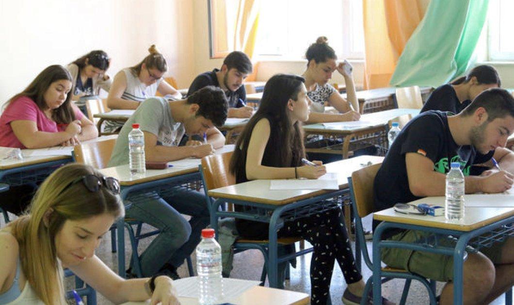 Πανελλαδικές: Σε Λατινικά, Χημεία & Αρχές Οικονομικής Θεωρίας εξετάζονται οι μαθητές των ΓΕΛ σήμερα - Κυρίως Φωτογραφία - Gallery - Video