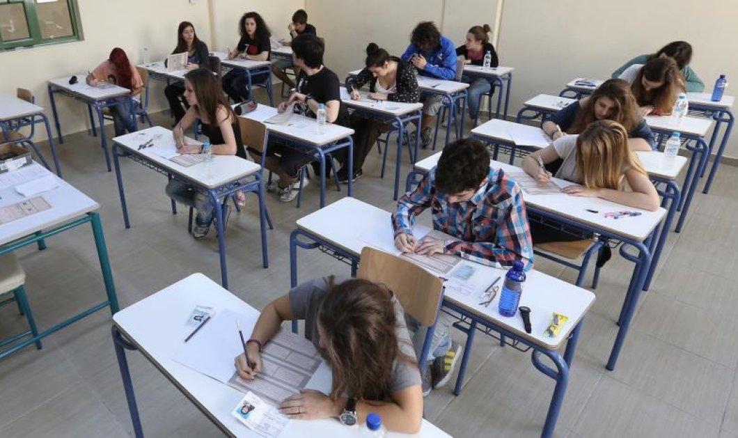Στα Μαθηματικά και στην Ιστορία εξετάστηκαν σήμερα οι υποψήφιοι πανελλαδικών - Δείτε τα θέματα που έπεσαν - Κυρίως Φωτογραφία - Gallery - Video