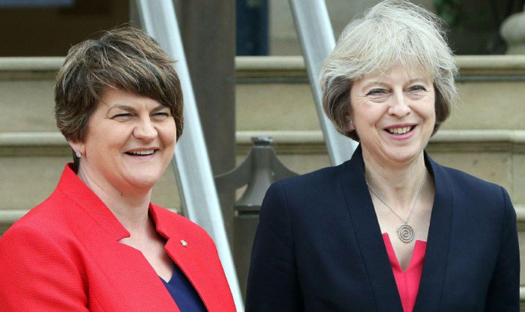 Αρλίν Φόστερ & Τερέζα Μέι προσπαθούν να έρθουν σε συμφωνία για να κυβερνήσουν την Μεγάλη Βρετανία - Κυρίως Φωτογραφία - Gallery - Video